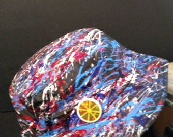 The Stone Roses Waterfall sleeve Inspired colourway Bucket Hat created in Manchester