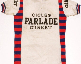 70's vintage cycle jersey made in Spain