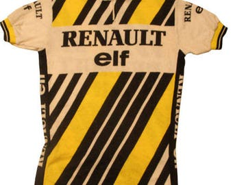 70's vintage Renault cycle jersey made in France Very rare!!!