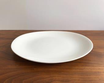 Eva Zeisel Hallcraft Tomorrow's Classic Dinner Plate in White