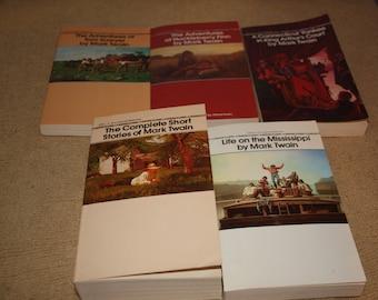 5 Mark Twain books