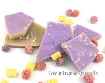 Crackling Crunch Berries Wax Melts Wax Brittle Handmade Soy Vegan Highly Scented Wax Tarts