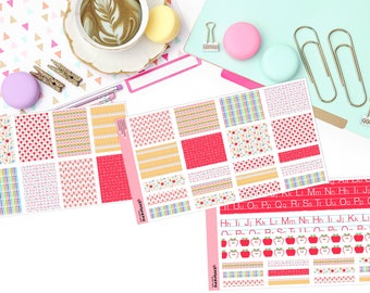 PRIMARY SCHOOL KIT Paper Planner Stickers!