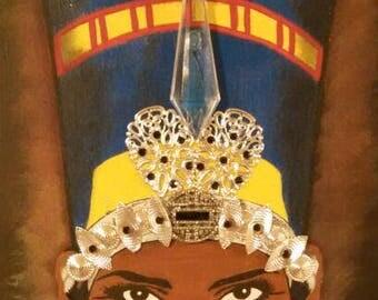 Black Nefertiti POSTER PRINT 16X24