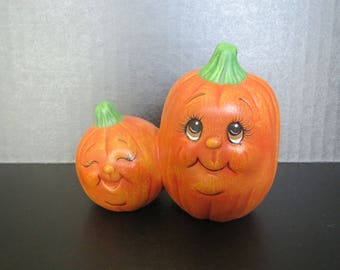 Pumpkin Patch Double Pumpkin-ceramic