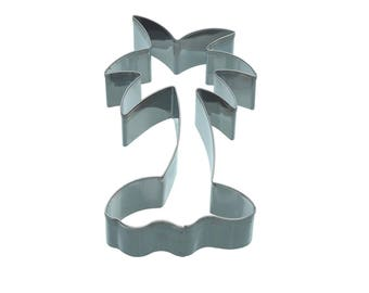 Cookie cutter cookie metal 11.5 cm - Palm tree shape