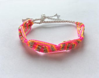 handmade colorful bracelets