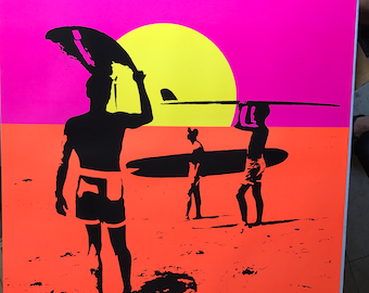 Endless Summer Poster 24 x 36 Bruce Brown