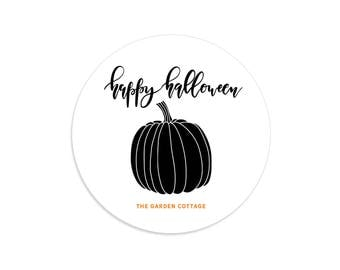 Halloween stickers, Personalized Halloween stickers, Halloween labels, Halloween tags for kids, Halloween thank you, Halloween tags and bags