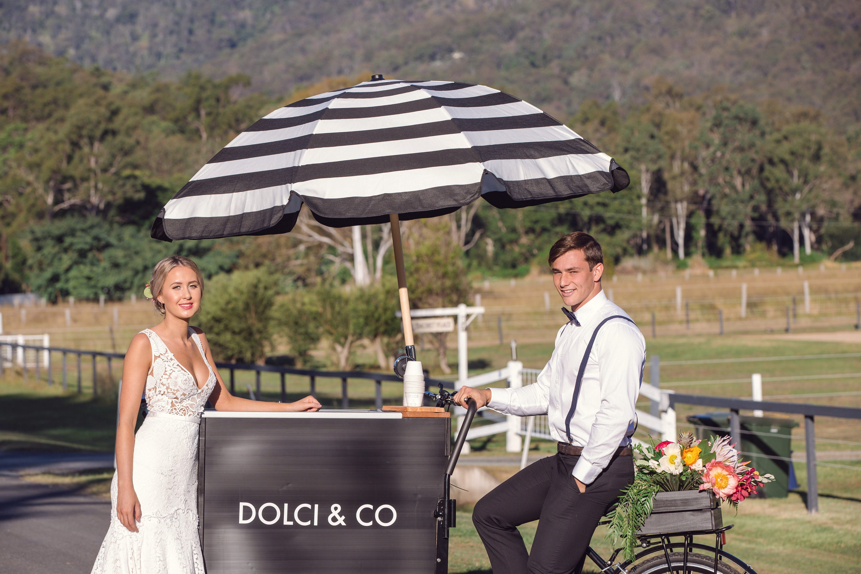 Ice cream cart - Wedding food