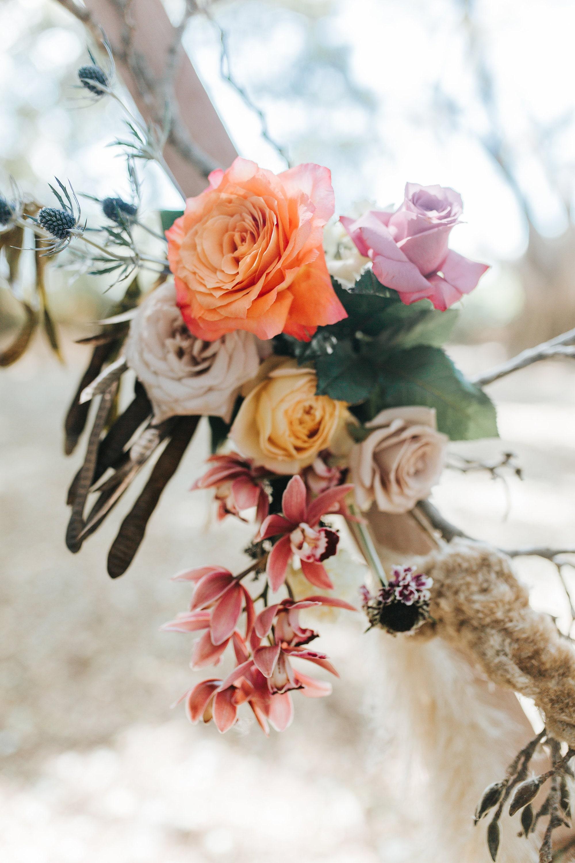 Bohemian Floral arrangement.