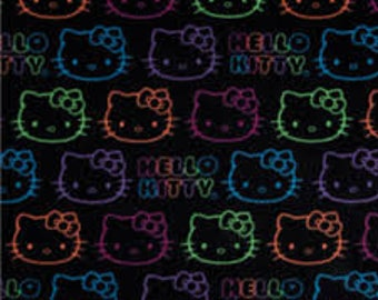 Hand tied, fleece Hello Kitty blankets