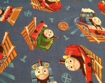 Thomas The Tank Engine Fabric