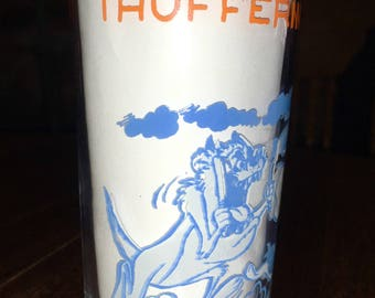 Vintage 1974 Looney Tunes Thufferin' Thuccotash!! Glass