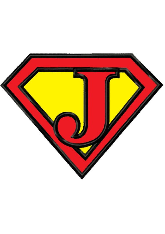 superman letter jinstant downloadapplique machine