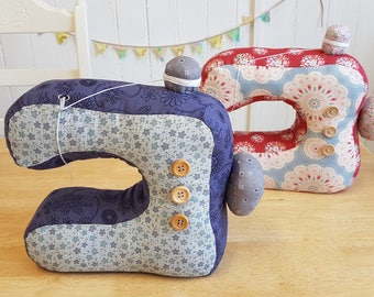 A PDF (digital) Pattern for A Sewing Machine Doorstop to Download
