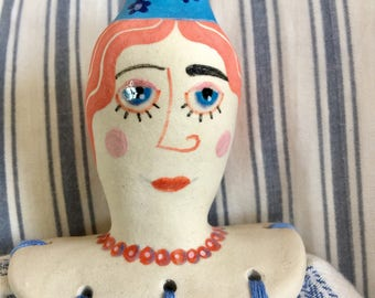Mertle - Ceramic Soft - Bodied Doll