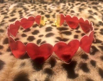 XOXO Love Valentine  Choker by PinkandPosh.Co