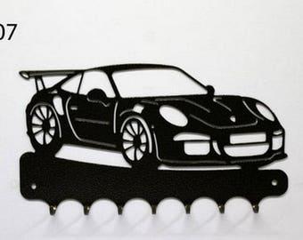 Hangs 26 cm pattern metal keys: Porsche 911 GT3 RS