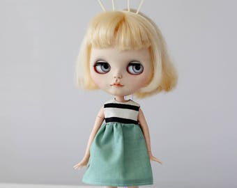 Striped dress | for blythe