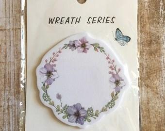 Wreath memo notes