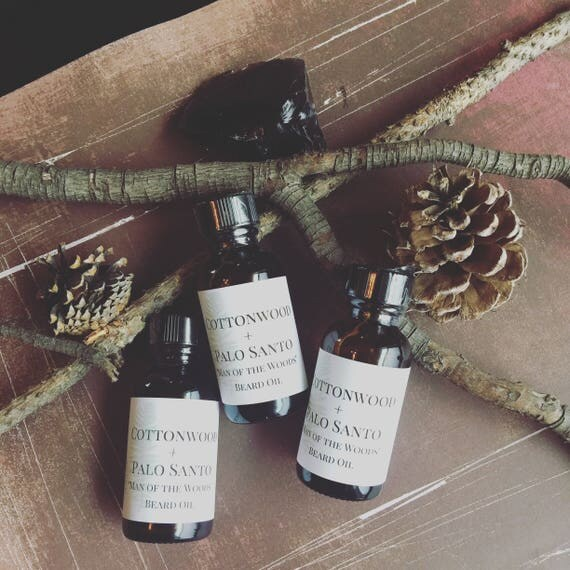 Cottonwood and Palo Santo Moisturizing Beard oil