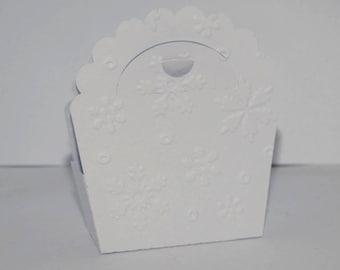 Box Christmas snowflake bag