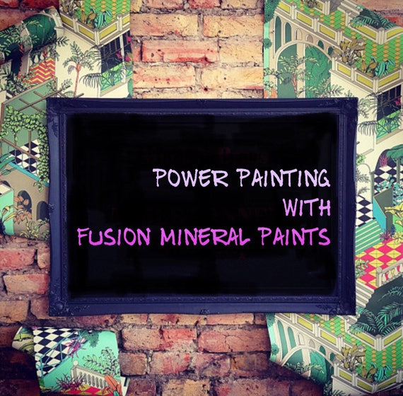 MONDAY 19th FEBRUARY evening power painting workshop