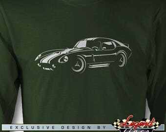 Daytona Coupe Replica Long Sleeves T-Shirt - In the Spotlights - Multiple colors - Size: S - 3XL - Great American AC Daytona Replica Gift