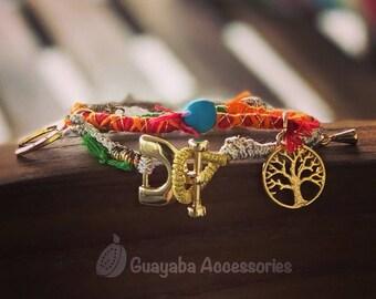 Handmade Bracelet. Hippiechic Bracelet. Bracelet for women.
