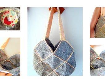 crochet spring summer 2017 cotton handbag