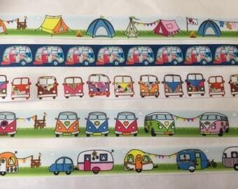 Festival LANYARD with SAFETY clip - Camper vans summer festival tents