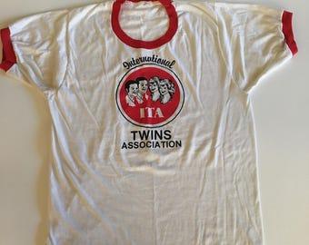 Vintage International Twins Association Shirt