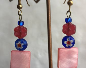 Piccadilly Blossoms Dangle Earrings