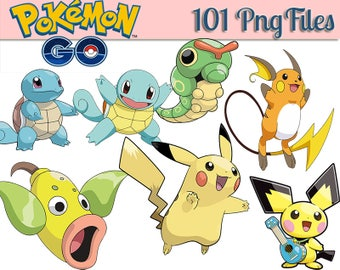 101 Pokemon ClipArt Clip Art  300dpi  Pokemon png ,  Pokemon clip ,  Pokemon party, Pokemon birthday,Pokemon,pikachu png,