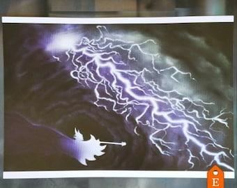 Maleficent's Power (14x20 print)