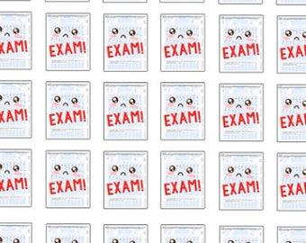 Exam Reminder Stickers , 150 piece set , Journals , Calendar , Remember , Labels , School , Teens