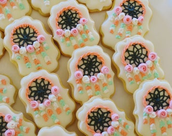 Boho Dream Catcher Cookies