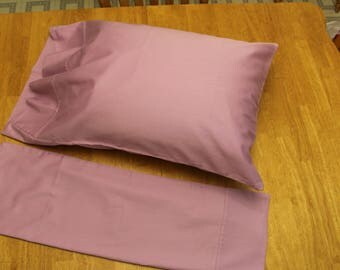 Pink Organic Pillowcases