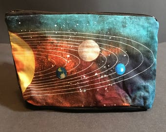 Solar System Zip Bag, Space Bag