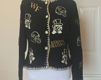 Wake Forest Demon Deacons tailgating sweater