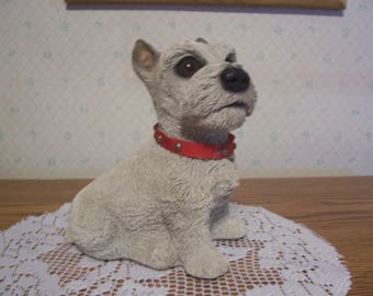 Musical Sitting Terrier made in USA