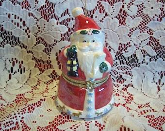 Musical Rotating Santa Christmas Ornament