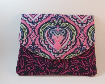 Womens Wallet, Fabric Women's Wallet, Business Card Holder, Credit Card Holder, Gift For Her Under 20