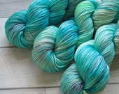 Aegean Sea Merino Silk Blend Fingering Weight Yarn