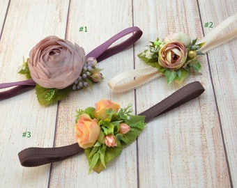 Toddler headband Flower baby headband Child headband Flower girl headband Baby girl headband Birthday headband Baby Photo Prop Baby shower