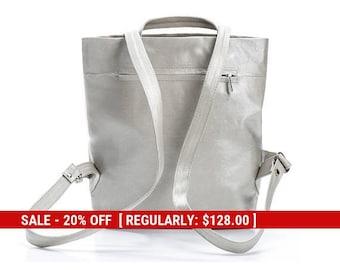 white backpack mini backpack purse backpack handbags womens backpack women - small backpack - fashion backpack - slim backpack - DAILYBPF