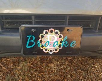 custom car tag