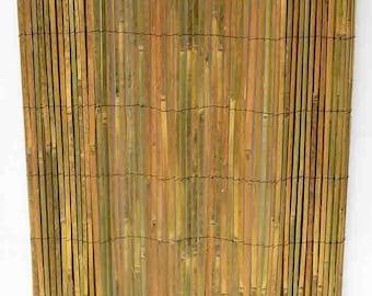 Bamboo Slat Fence 6'H x 15'L, SBF-96