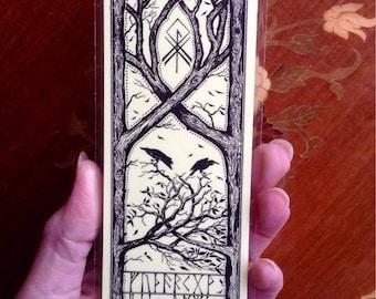 Bookmark with Pagan Design (Lemon)